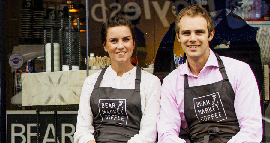 Bear Market Café Owners Ruth & Stephen Deasy