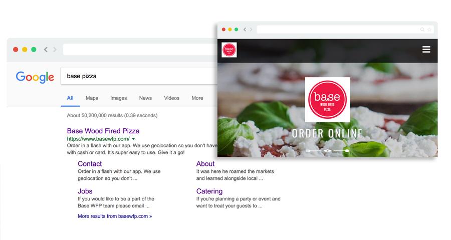 SEO voor Online Eten Bestellen