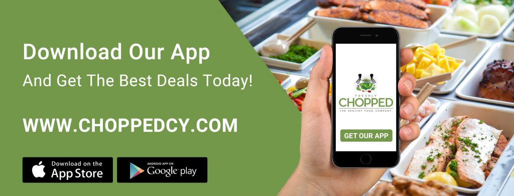 Image of Chopped Ad Banner for Online Ordering