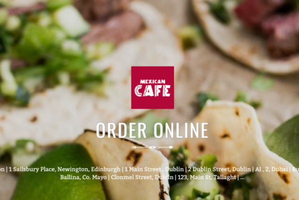Latest Restaurant Website Design