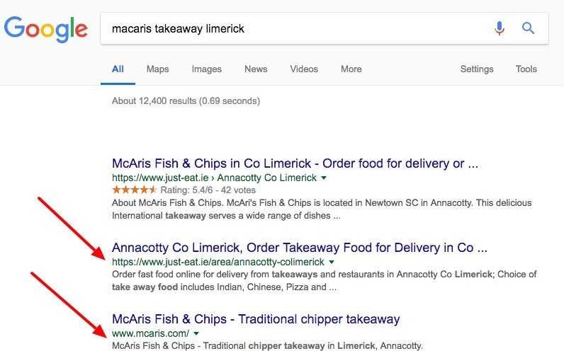 Image of Online Ordering SEO