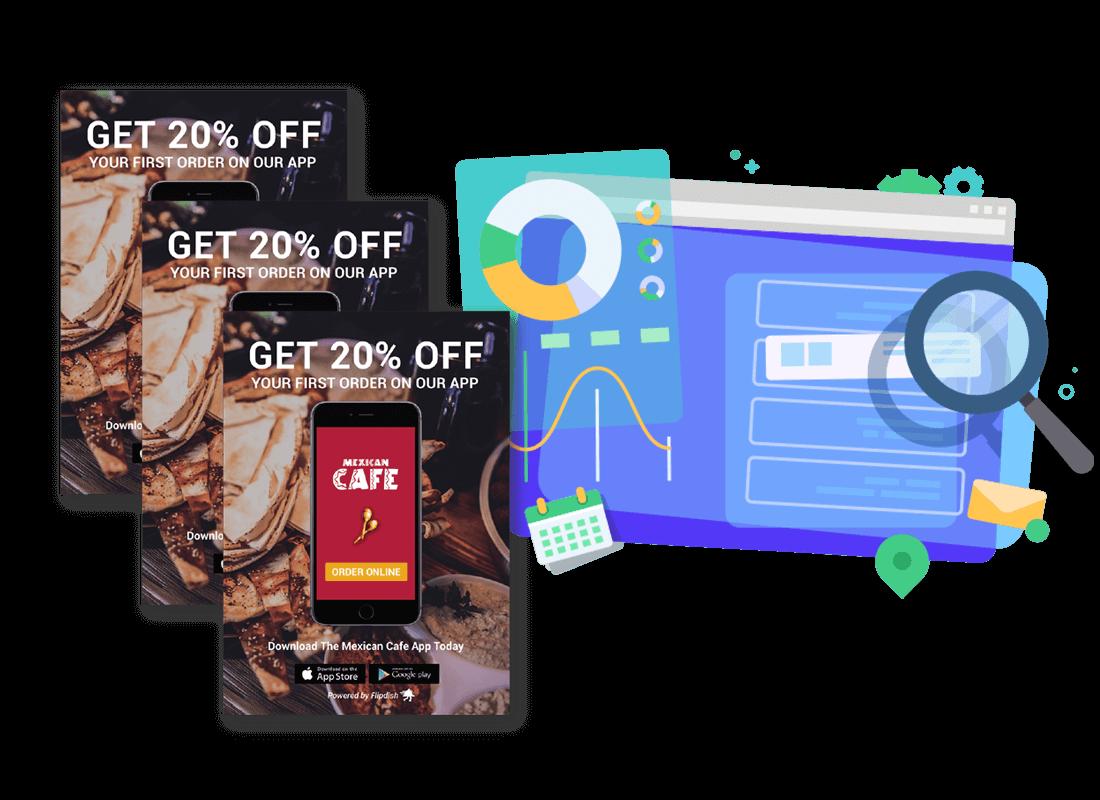 Marketing kit for restaurants