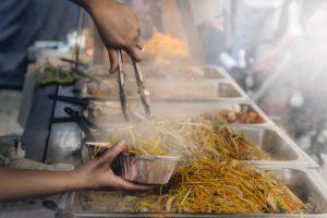 preparing food for your online menu