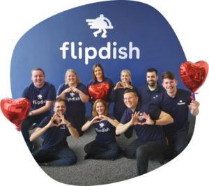 The Flipdish customer success team