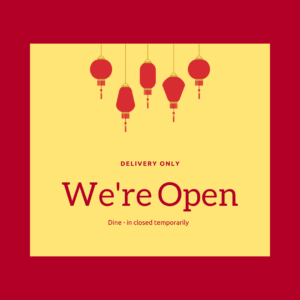 Takeaway food open for delivery COVID-19