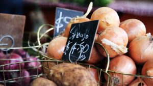 produce supply and demand dictating online menu pricing