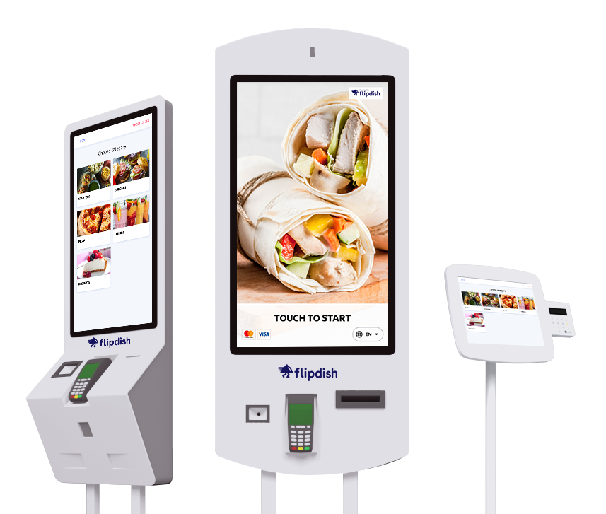 Flipdish Self-Service Restaurant Kiosks