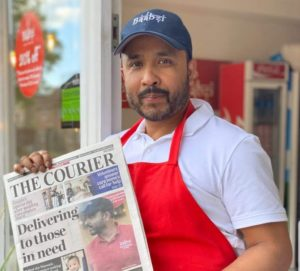 Flipdish's UK customer widely praised for giving meals to hospital staff - Baabzi Miah image