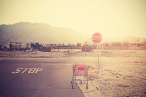5 conversion killers and how to avoid them - Abandoned shopping cart