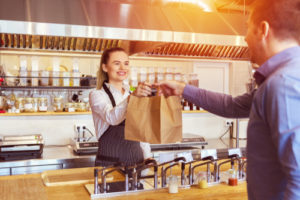 Burger King 'Restaurant of Tomorrow' - Collecting takeaway image
