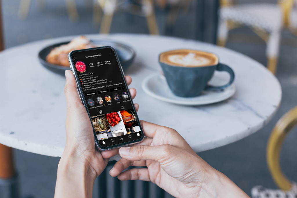A nice restaurant Instagram feed is a great way to grow your restaurants business