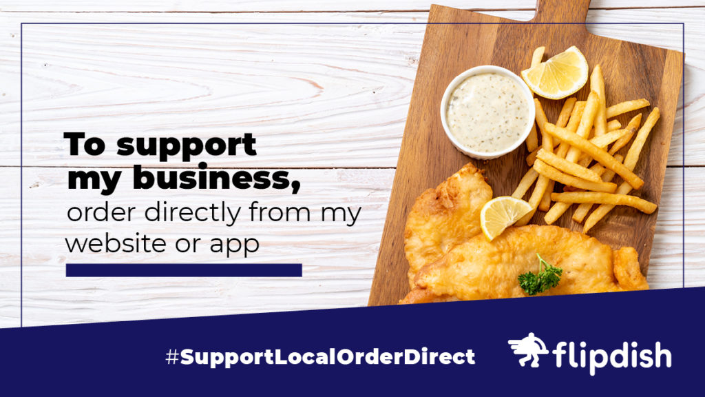 Support Local, Order Direct: Helping restaurants and takeaways in tough times facebook twitter example