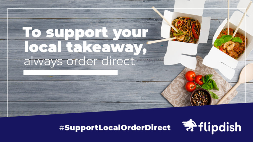 Support Local, Order Direct: Helping restaurants and takeaways in tough times facebook and twitter example
