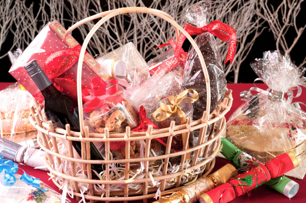 Christmas hamper a prize for Christmas competitions to maximise your restaurant sales