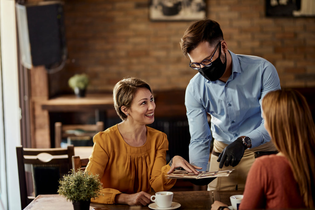 PPE in a restaurant How to prepare your restaurant for 2020 festive season