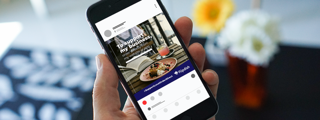 Support local restaurants and takeaways by ordering directly on their website or mobile app