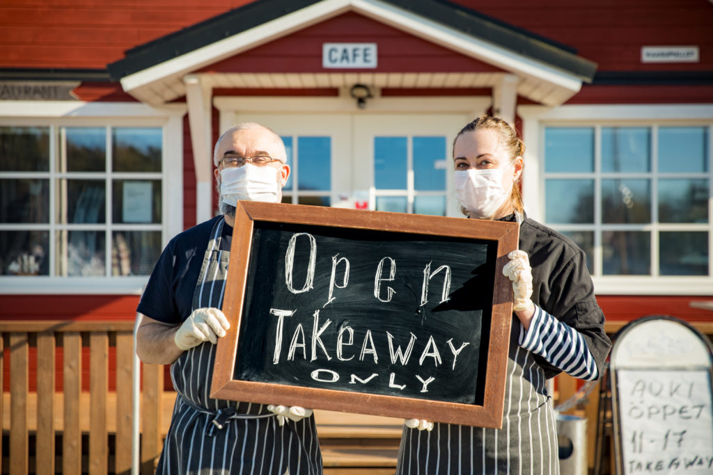 takeaway only tips for restaurants to survive during covid